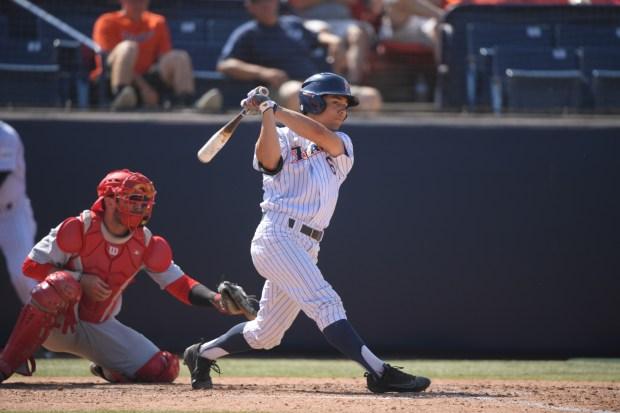 Hurst honed his game growing up in Glendora, California (Photo courtesy of Matt Brown/Cal State Fullerton).