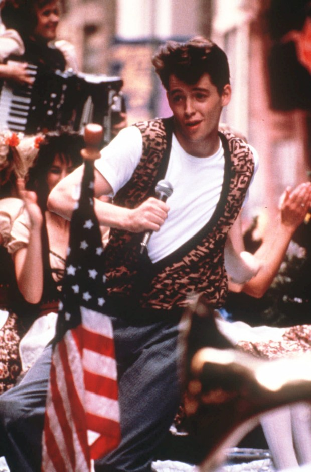 """""""Ferris Bueller's Dayoff,"""" starring Matthew Broderick, will screen July 21 at Mason Regional Park in Irvine. (Photo courtesy of Paramount Pictures)"""