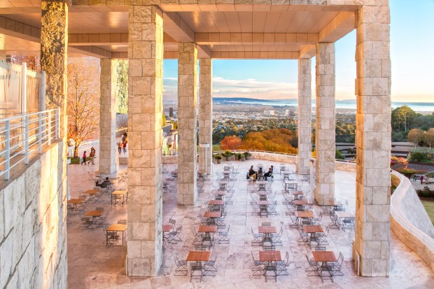 Getty Museum. (Photo by Jim Moss Photography)