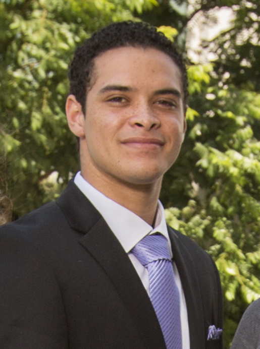 Deshawn Sambrano, a Cal State Fullerton graduate, will attend the doctoral program in psychology at New York University. (Photo courtesy of Cal State Fullerton)