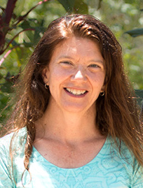 Sara Johnson is a professor of anthropology and project director for Cal State Fullerton's Urban Agriculture Community-based Research Experience program. (Photo courtesy of Cal State Fullerton)
