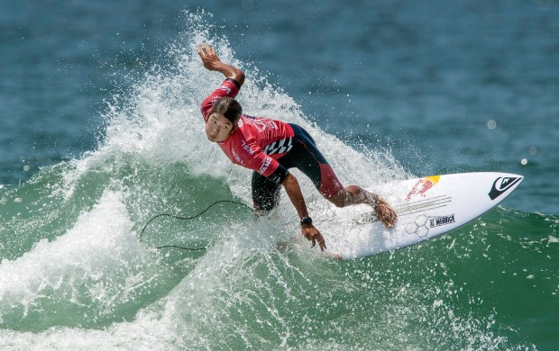 Kanoa Igarashi of Huntington Beach will take on the world's best surfers at the Vans US Open of Surfing in Huntington Beach, July 29-Aug. 6. (File photo by Mark Rightmire, The Orange County Register/SCNG)