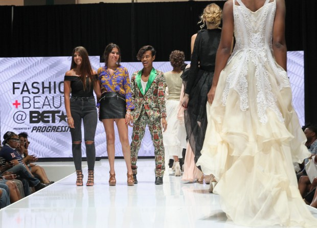 Models walk the runway during the BET Fashion & Beauty shows, talks and demos during the 2016 BET Experience in downtown Los Angeles (Photo by Rachel Murray, Getty Images for BET)