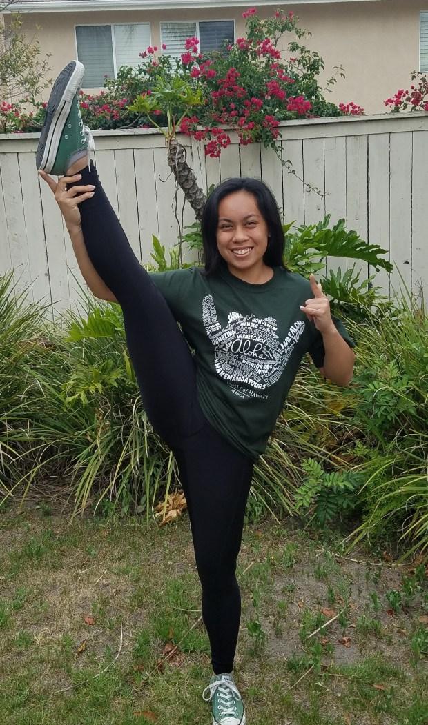 Candice Sarangay, IrvineUniversity of Hawai'I at Manoa: mechanical engineering (Photo courtesy of Candice Sarangay)