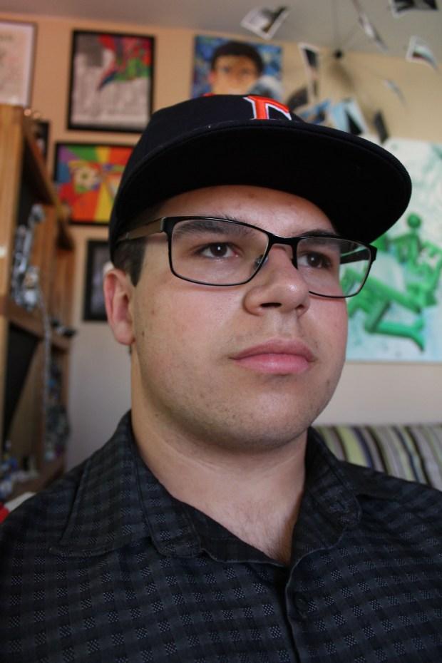 Brandon Bollinger, Yorba LindaCal State Fullerton: art (graphic design) (Photo courtesy of Brandon Bollinger)