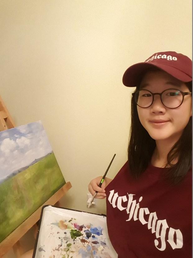 Celine Kim, UniversityUniversity of Chicago: undecided major; visual arts, undeclared minor (Photo courtesy of Celine Kim)