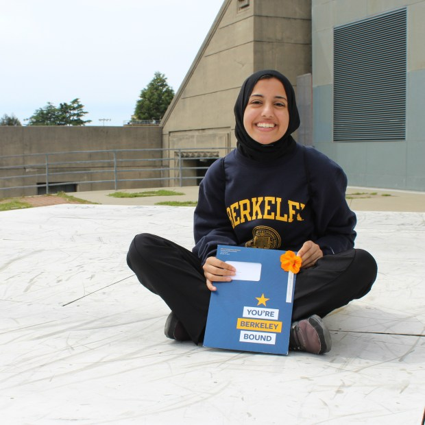 Nawal Seedat, El ModenaUC Berkeley: molecular and cell biology (immunology and pathogenesis) major; public health, minor (Photo courtesy of Nawal Seedat)