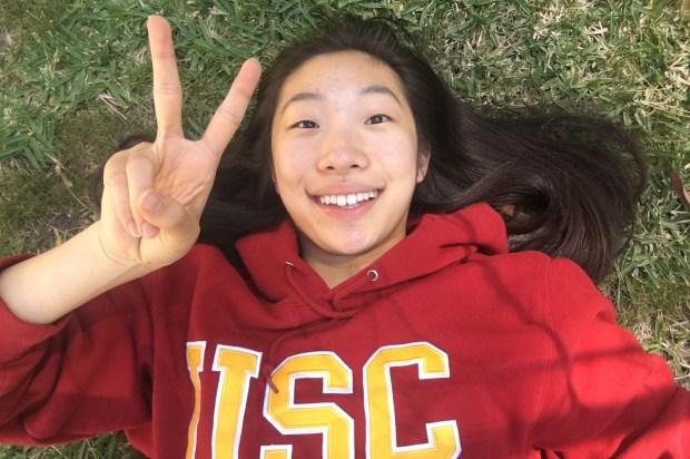 Charlotte Kim, Brea OlindaUSC: linguistics (Photo courtesy of Charlotte Kim)