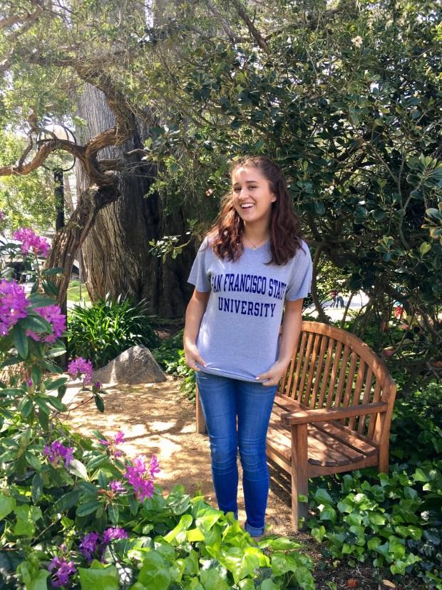 Matilda Vertiz, Santa Margarita CatholicSan Francisco State University: drama major; psychology, minor (Photo courtesy of Matilda Vertiz)
