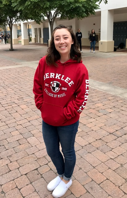 Michaela Xu, St. Margaret'sBerklee College of Music: undecided (Photo courtesy of Michaela Xu)