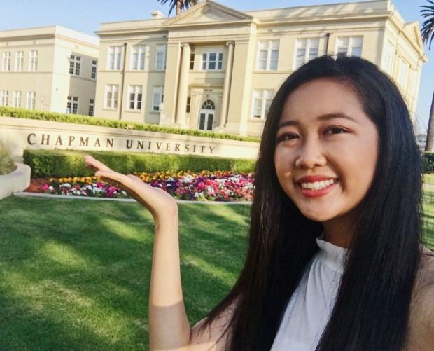 Britney Lee, El ModenaChapman University: film studies (Photo courtesy of Britney Lee)