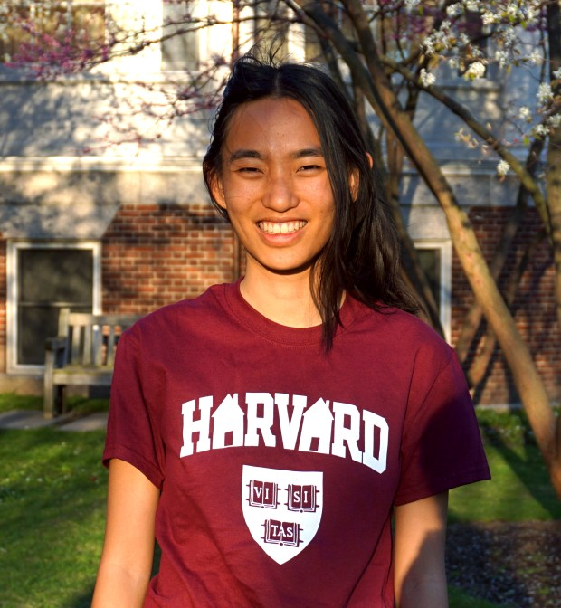 Emily Hong, Capistrano ValleyHarvard University: computer science (Photo courtesy of Emily Hong)