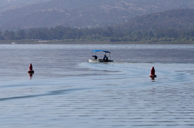 Boaters take to the water at Lake Elsinore in Lake Elsinore Wednesday, June 14, 2017. FRANK BELLINO, THE PRESS-ENTERPRISE/SCNG