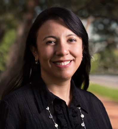 """Maria Estela Zarate is a co-author of """"Facilitating Educational Success for Migrant Farmworker Students in the U.S."""" (Photo courtesy of Cal State Fullerton)"""