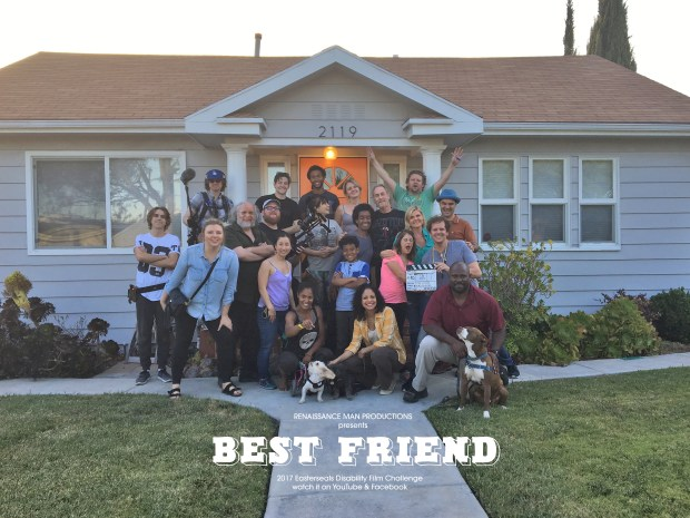 "The cast and crew of ""Best Friend"" gather in Los Angeles. (Photo courtesy of Cory Reeder)"