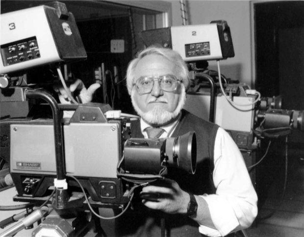 George Mastroianni headed theradio-TV-film emphasis at Cal State Fullerton from 1968 to 1991. (Photo courtesy of Cal State Fullerton)
