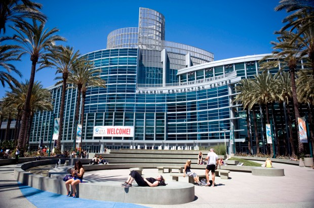 Constructon of an expansion to the Anaheim Convention Center is winding down, reducing the budget for 2017-18. (File photo by Kevin Sullivan, Orange County Register/SCNG)