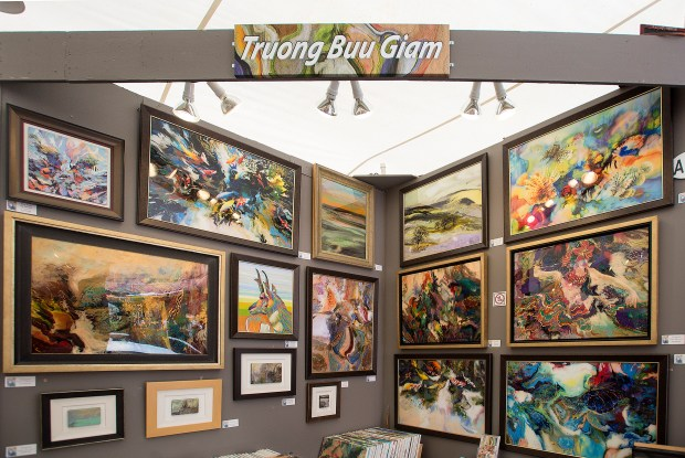 The dream-like work of Troung Buu Giam graces the 2016 Laguna Beach's Art-A-Fair. The festival starts at the end of June. (Cindy Yamanaka, File Photo)