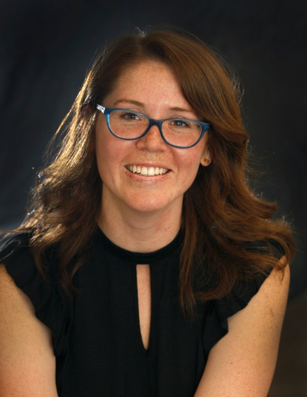 """Ashley Loup, a Cal State University, Fullerton graduate student in American studies, recently presented a paper titled: """"In-Your-Face: Race, Sportsmanship and the Ban of the Dunk? at CSUF'?s sports conference. She is on the campus on Friday June 2, 2017.(Photo by Karen Tapia, Contributing Photographer)"""