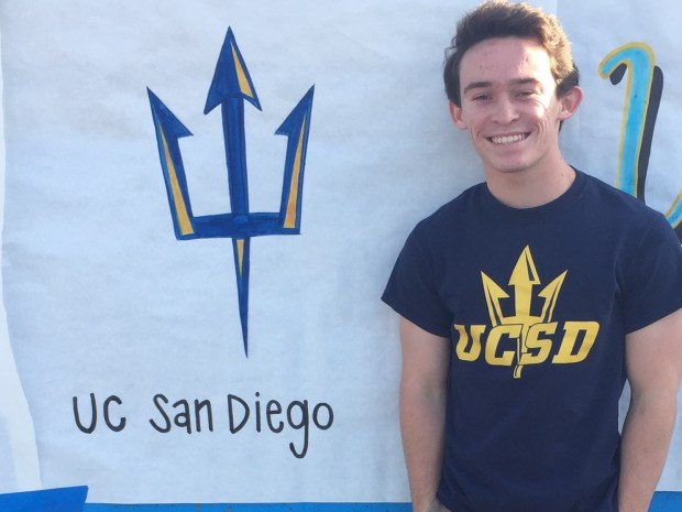 Andy Jacobson, MarinaUC San Diego: chemistry and political science major; theatre and psychology, undeclared minor (Photo courtesy of Andy Jacobson)