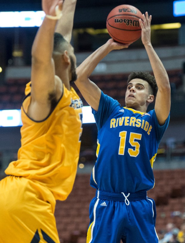 UC Riverside freshman guard Dikymbe Martin led the team in assists.