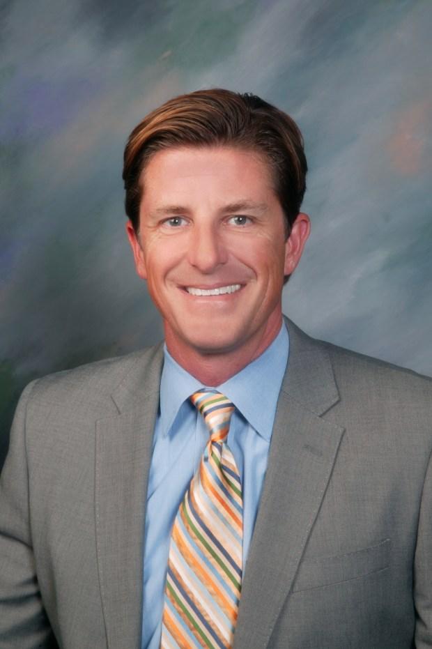 Dr. Jason Allemann will leave Dana Hills High School to teach lead Laguna Beach High School. He replaces Principal Chris Herzfeld, who will remain at the high school teaching social studies.  (Photo courtesy of LBUSD)