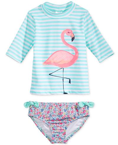 Flamingo swimsuit separates, Carter's at Macy's, $38. (handout photo)