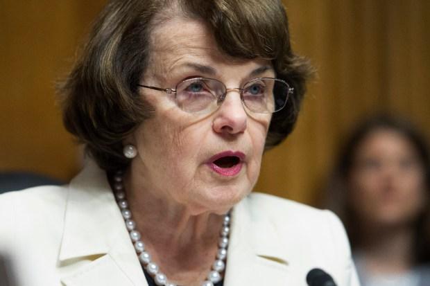 U.S. Sen. Dianne Feinstein, D-Calif.