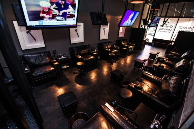 Men's salon Hammer & Nails is making its way to Orange County. (Photo courtesy of Hammer & Nails)