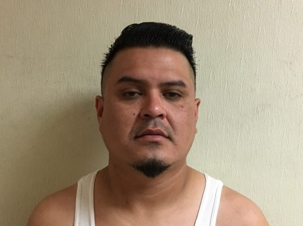 Ricardo Hernandez, 35, of Hemet was arrested on suspicion of felony hit and run Friday after turning himself in on Friday, June 24, 2017, officials say. (Courtesy of Hemet Police Department)