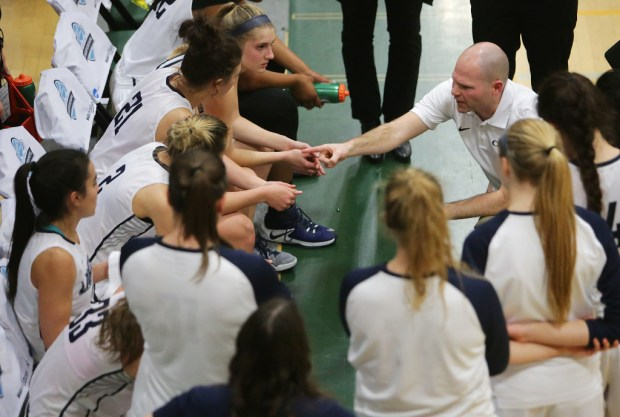 Jarrod Olson led the Cal Baptist women's basketball team to a 35-3 record and PacWest and regional titles.