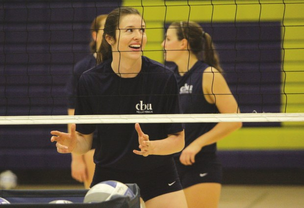 Cal Baptist volleyball player Lauren Hackett helped lead the Lancers to their first NCAA berth.