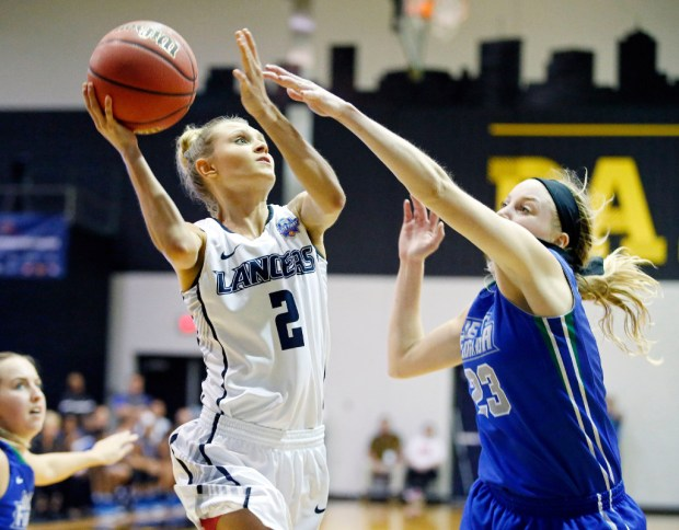 Cassidy Mihalko finished her career as the all-time leading scorer at Cal Baptist and the PacWest Conference.