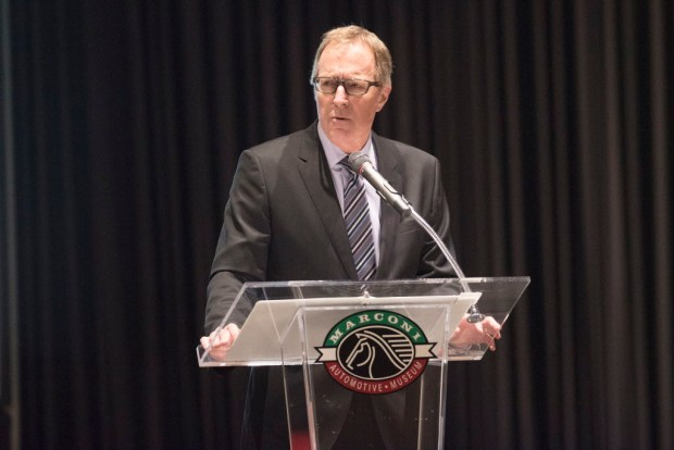 Steve Churm with Fivepoint Communities has been installed as the new chairman of OCBC's board of directors. (Photo by Matt Masin, Orange County Register, SCNG)