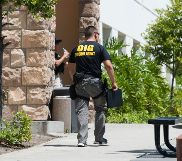Sovereign Health in San Clemente was raided by 40 federal agents Tuesday, June 13, 2017. (Photo by Sam Gangwer, Orange County Register/SCNG)