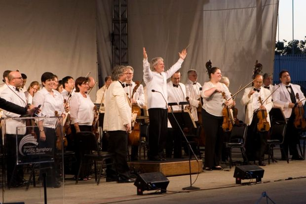 Pacific Symphony In The Cities free concert program