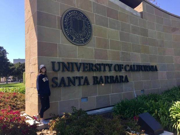 Sara Neal, Capistrano ValleyUC Santa Barbara: theatre (Photo courtesy of Sara Neal)