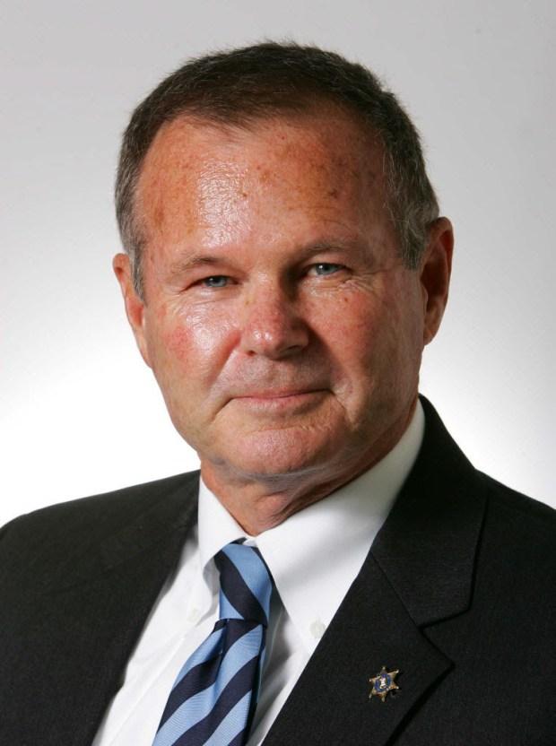 Riverside County Sheriff Stan Sniff (File photo).