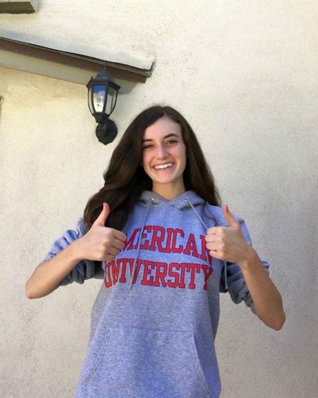Sophie Martin, Laguna HillsAmerican University: Musical Theater major; Spanish language, minor (Photo courtesy of Sophie Martin)