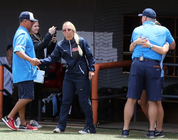 Taryne Mowatt has been the pitching coach at Ole Miss for the past two seasons. (Photo courtesy of Ole Miss Athletics)