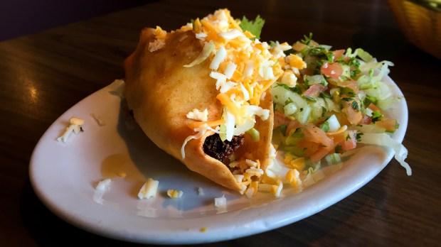 Crispy beef taco at El Matador in Costa Mesa. (Photo by Brad A. Johnson, Orange County Register/SCNG)