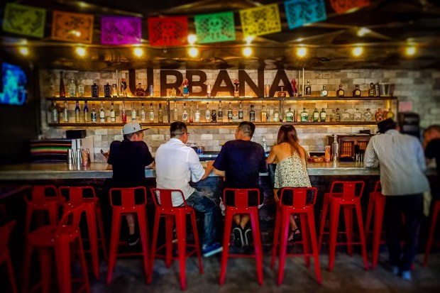 Urbana is a Mexican gastrobar with an extensive tequila and mezcal selection at Anaheim Packing House. (Photo by Brad A. Johnson, Orange County Register/SCNG)