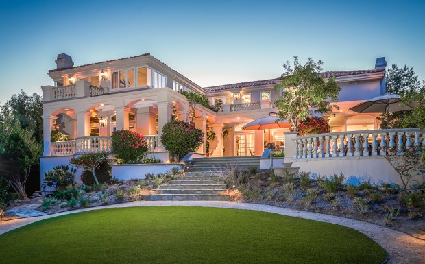 Larry H. Parker has put his San Juan Capistrano estate up for sale at $4.91 million. (Photo by Sam Chen, Aloha PhotoVideo)
