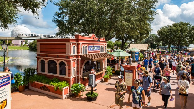 The Epcot International Food & Wine Festival at the Walt Disney World Resort's Epcot theme park features food and beverages at more than 30 marketplaces throughout the park. (Courtesy, Walt Disney World Resort)