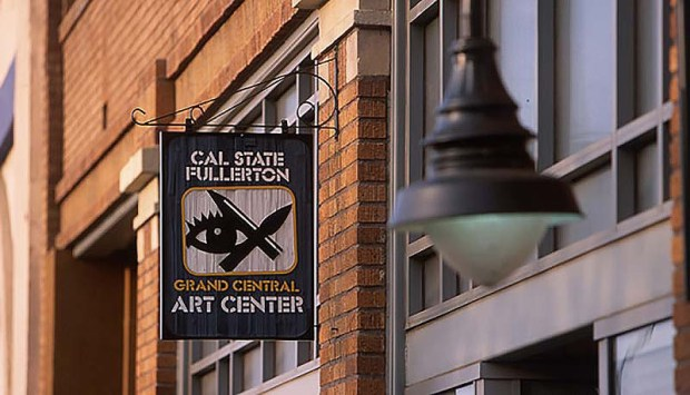 Grand Central Art Center in downtown Santa Ana received its second grant from the Andy Warhol Foundation for the Visual Arts. (Photo courtesy of Cal State Fullerton)