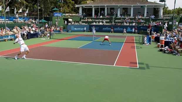 The Palisades Tennis Club hosted the Orange County Breakers of World TeamTennis this year. The club was formerly known as the John Wayne Tennis Club, which opened in 1974. FILE PHOTO