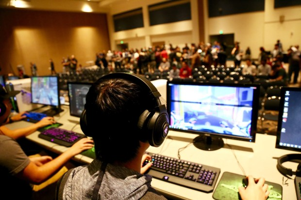 The Gaming & Esports club includes tournaments as an opportunity for members to gather together and build a strong sense of family and comradery. (Photo courtesy of Sergio Oyarzabal/ Phillippe Orea)
