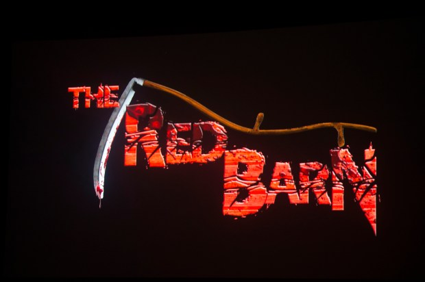 the red barn is a returning attraction for knotts scary farm at knotts berry farm in - Farm Halloween