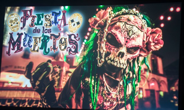 Fiesta de los Muertos is returning with changes for Knott's Scary Farm at Knott's Berry Farm in Buena Park on Thursday, August 31, 2017. (Photo by Matt Masin, Orange County Register, SCNG)