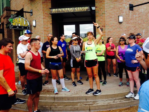 The Monrovia chapter of A Snail's Pace running club meets for its pub runs every third Thursday of every month, April through September.